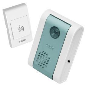 Campainha Polifônica Wireless Controle Remoto Fame127v