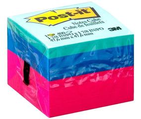 Bloco Adesivo Post-it® Cubo Ultra - 47,6 Mm X 47,6 Mm - 400