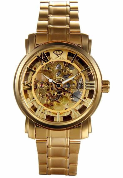 Reloj Lancardo Dorado