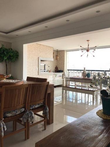 Apartamento Com 3 Dormitórios À Venda, 137 M² Por R$ 950.000,00 - Vila Rosália - Guarulhos/sp - Ap0003