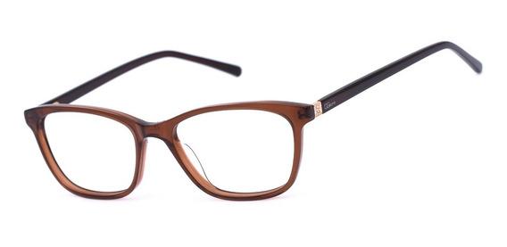 Armação Oculos Ogrife Og 1703-c Acetato Feminino Original