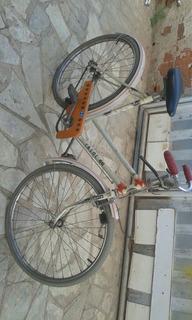 Rara Bicicleta Antiga Caloi 66 Aro 24 Juvenil P/ Restaurar