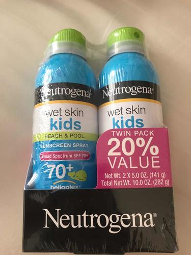 Kit Com 2 Protetor Neutrogena Wet Skin Kids