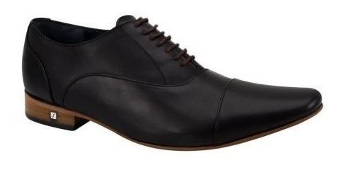 Zapato De Vestir Schatz 4045 ~ Caballero Negro 105228