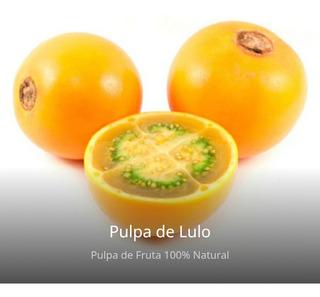 9k Pulpa Natural Lulo Largavida - kg a $8111