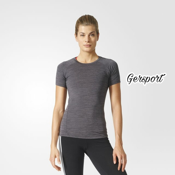 Remera adidas Training Performance Mujer. Talle S.