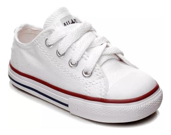 Tênis Converse All Star Infantil- Branco