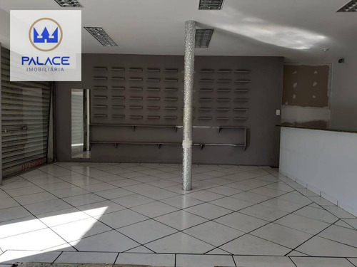 Salão Para Alugar, 58 M² Por R$ 950/mês - Paulista - Piracicaba/sp - Sl0158
