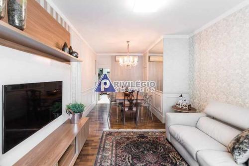 Apartamento À Venda, 2 Quartos, 1 Suíte, 1 Vaga, Copacabana - Rio De Janeiro/rj - 17354