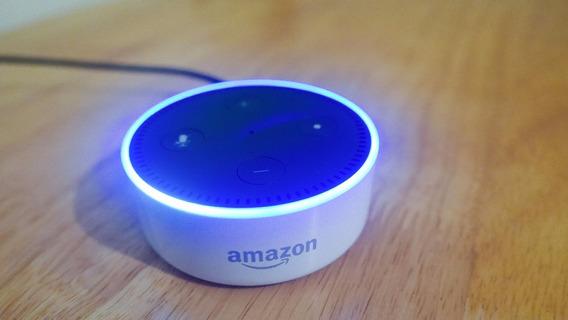 Echo Dot Alexa Amazon 2ª Geração Smart Home Branco Top