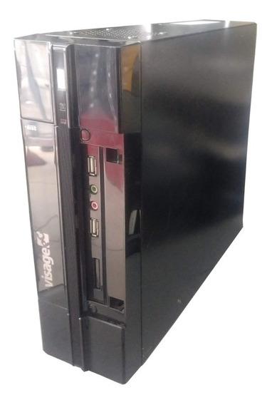 Mini Pc Cpu Atom Memória 4gb Ddr3 Hd 500gb 1x Serial