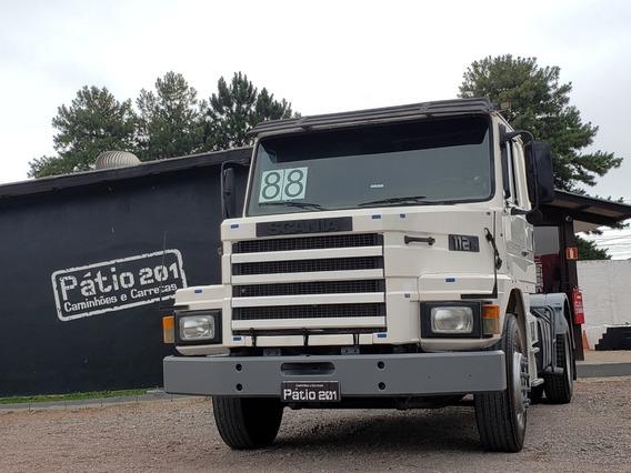 Caminhão Scania T112 Hs 1988 4x2 Toco