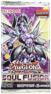 Yugioh Booster X9 Cartas - Soul Fusion - Konami