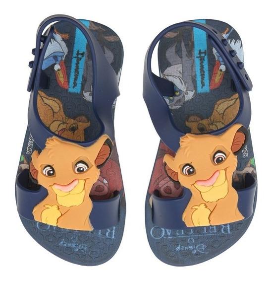 Sandália Infantil Ipanema Clássicos Disney Baby Rei Leão
