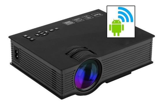 Mini Projetor Led Portátil Wifi 1800lumens Datashow Hdmi Vg