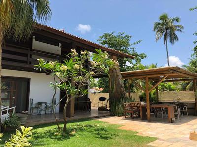 Casa De Praia Em Toquinho ,piscina, 5 Suítes Climatizadas