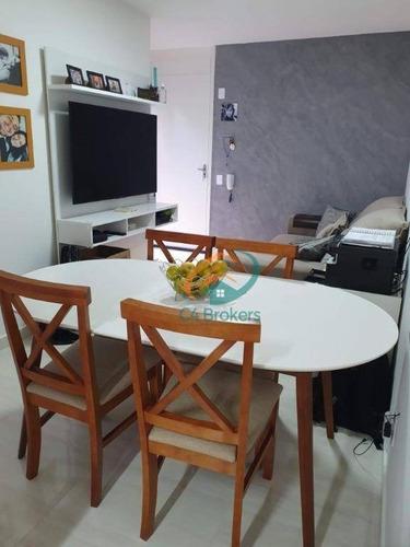 Apartamento Com 2 Dormitórios À Venda, 42 M² Por R$ 185.000,00 - Jardim Angélica - Guarulhos/sp - Ap3925