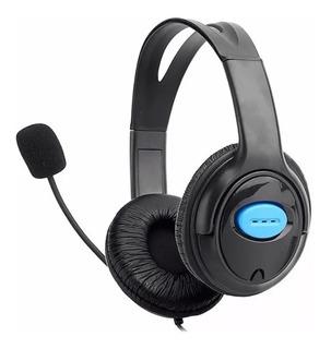 Auriculares Headset Para Chat Juegos De Playstation 4 Ps4 Pc
