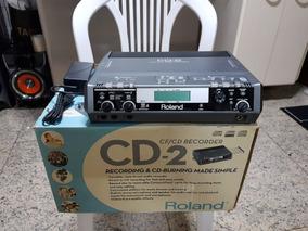 Gravador Roland Cd-2 Raridade!!! Super Conservado!!!