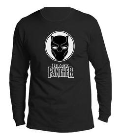 Camiseta Estampada Black Panter / Pantera Negra