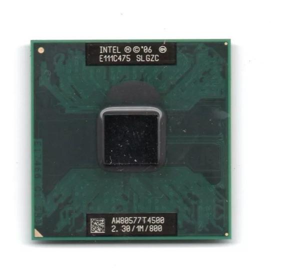 Processador Intel Dual Core T4500 2,30ghz/1m/800mhz Notebook