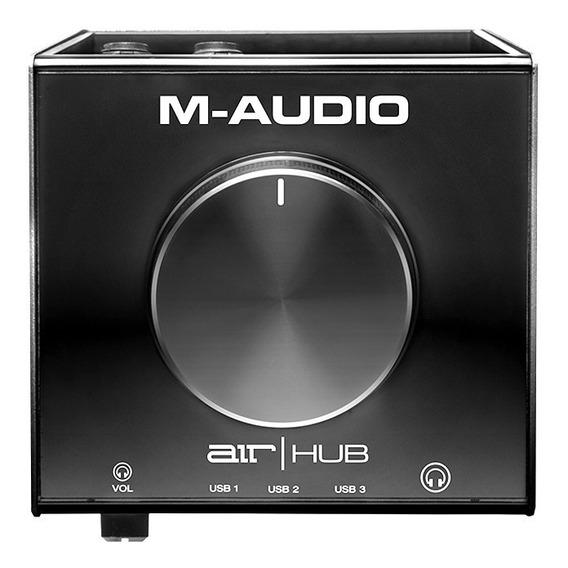 Interface Monitoramento M-audio Airhub 3 Portas Usb