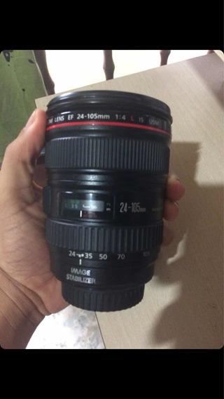 Lente Canon Zoom Lens Ef 24-105mm Série L