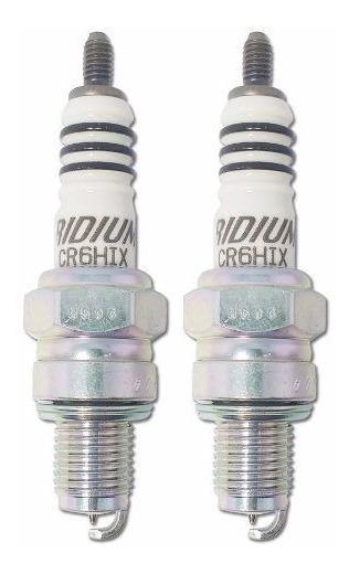 Vela Iridium Ngk Virago 250 S Xv Yamaha Cr6hix - 2 Velas