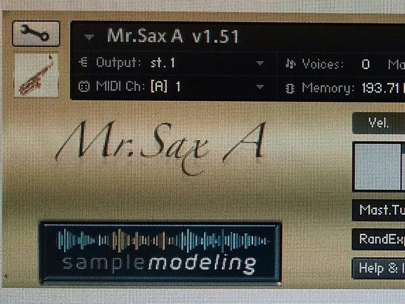 Mr Sax A,b. E T