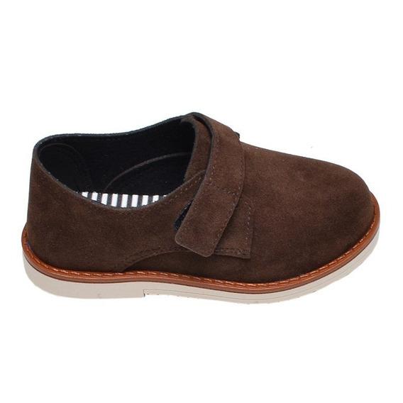 Sapato Infantil Menino Molekinho Café