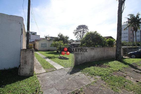 Terreno À Venda, 450 M² Por R$ 600.000,00 - Bacacheri - Curitiba/pr - Te0867