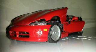 Carro Escala 1/18 Dodge Viper Rt/10 1992 - Burago