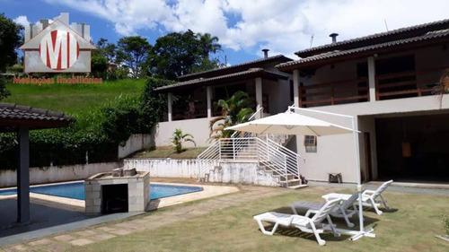 Chácara Em Condomínio, Vista Deslumbrante, Piscina, 06 Dormitórios À Venda, 1000 M² Por R$ 810.000 - Monte Alegre Do Sul - Monte Alegre Do Sul/sp - Ch0272