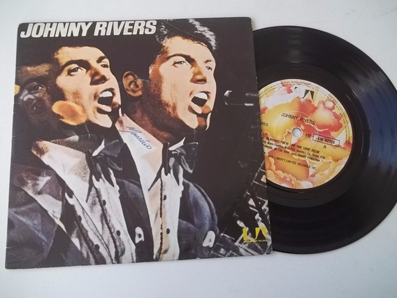 Vinil Compacto Ep - Johnny Rivers - 1976