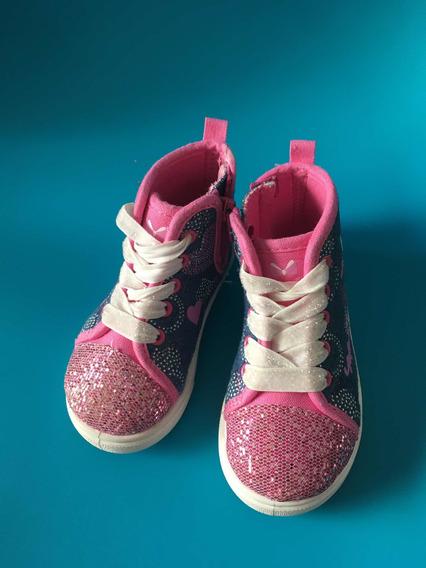Zapatillas Minnie De Jeans Botitas