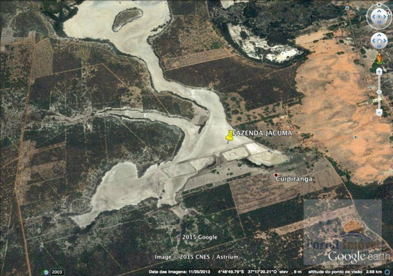 Fazenda Em Icapuí Com 19,5 Hectares, 4 Viveiros - Fa0001