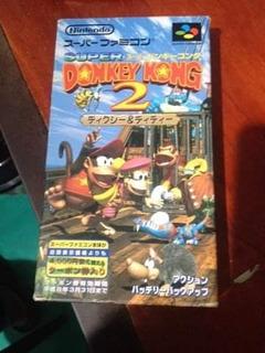 Oferta!!!! Super Donkey Kong 2 Nintendo Superfamicom