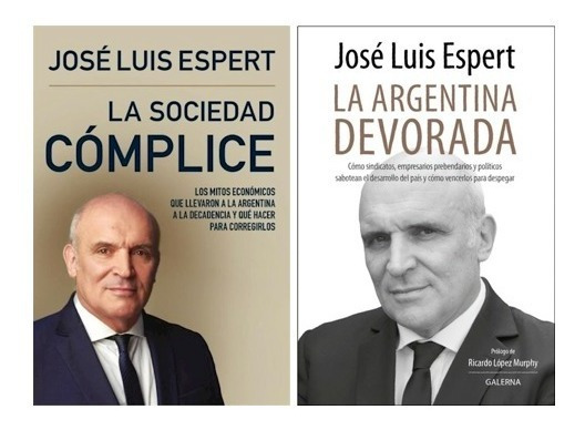 Pack Espert - Sociedad Cómplice + Argentina Devorada