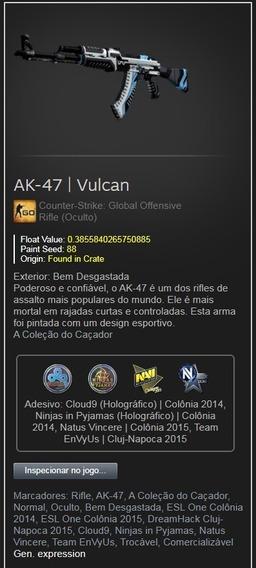 Skin Cs Go Ak-47 | Vulcan