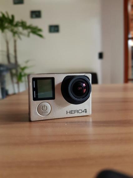Câmera Filmadora Gopro R$850,00 Hero4 Silver Edition 12mp 4k