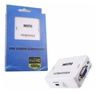 Cable Adaptador Conversor Hdmi A Vga Audio Apto Notebook