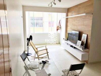 Apartamento Com 3 Quartos À Venda, 81 M², Suíte, 3 Banheiros, Mobiliado, Financia Vila União Fortaleza/ce - Ap1613
