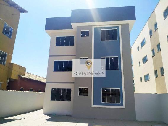 Lançamento! Apartamentos 2 Quartos/suíte, Recreio/praia De Costazul. - Ap0444