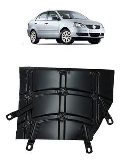 Protetor Cárter Peito De Aço Polo Hatch Sedan 2002 A 2013