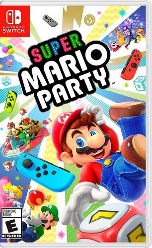 Imagen 1 de 1 de Super Mario Party - Nintendo Switch