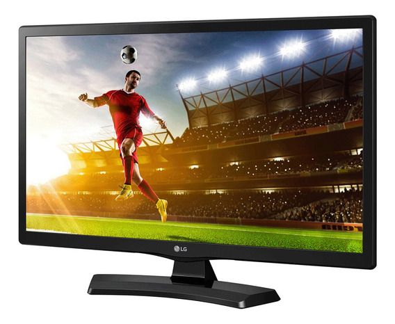 Tv Led E Monitor Lg 19,5 Polegadas Hd Hdmi Usb 20mt49df-ps