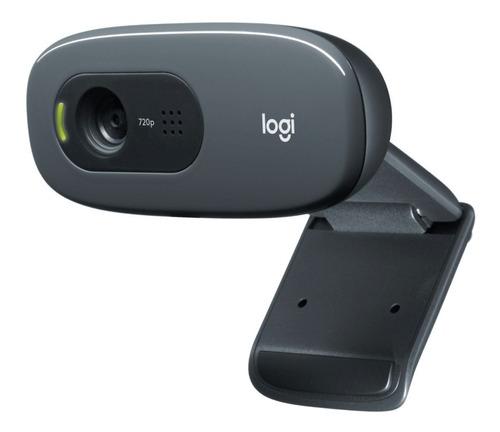 Cámara Videoconferencias Webcam Logitech C270 Hd Gtía 2 Años