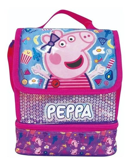 Lunchera Termica Peppa Pig Infantil Original Cresko Pp492