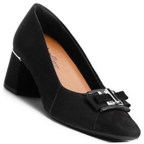 88ee18ce29 Sapato Social Feminino Usaflex Scarpins - Sapatos no Mercado Livre ...