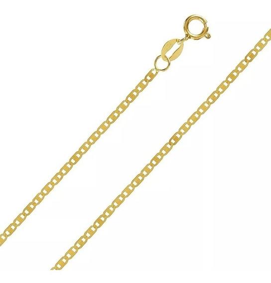 Corrente Cordão Masculino Ouro 18k Piastrine 60cm Barato